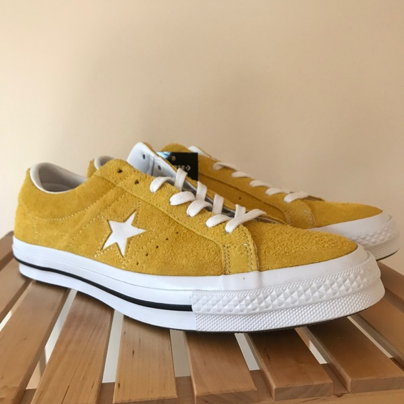 One Star Ox Yellow Suede 161241c New